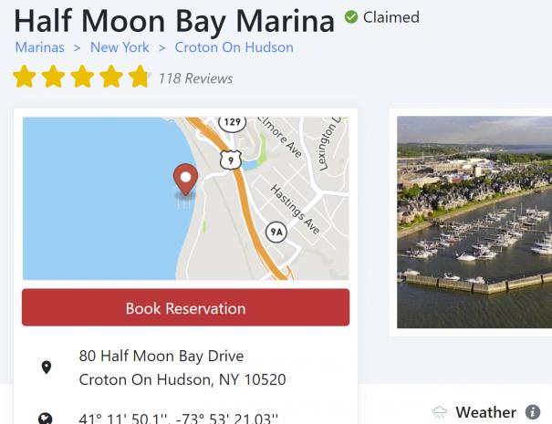Marinas.com screenshot